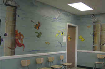 Hospital Mural Artist Lake Mary FL